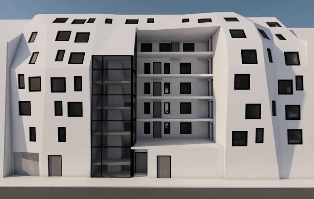Wohnhaus-Studie-1130 Wien